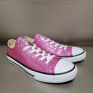 Converse CTAS Glitter Sparkling Kids Sneakers NWT